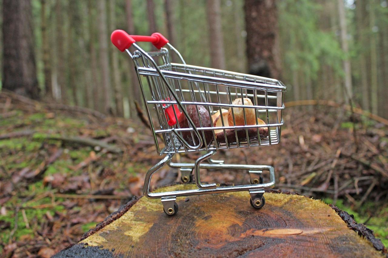 買い物かごは冷たい?