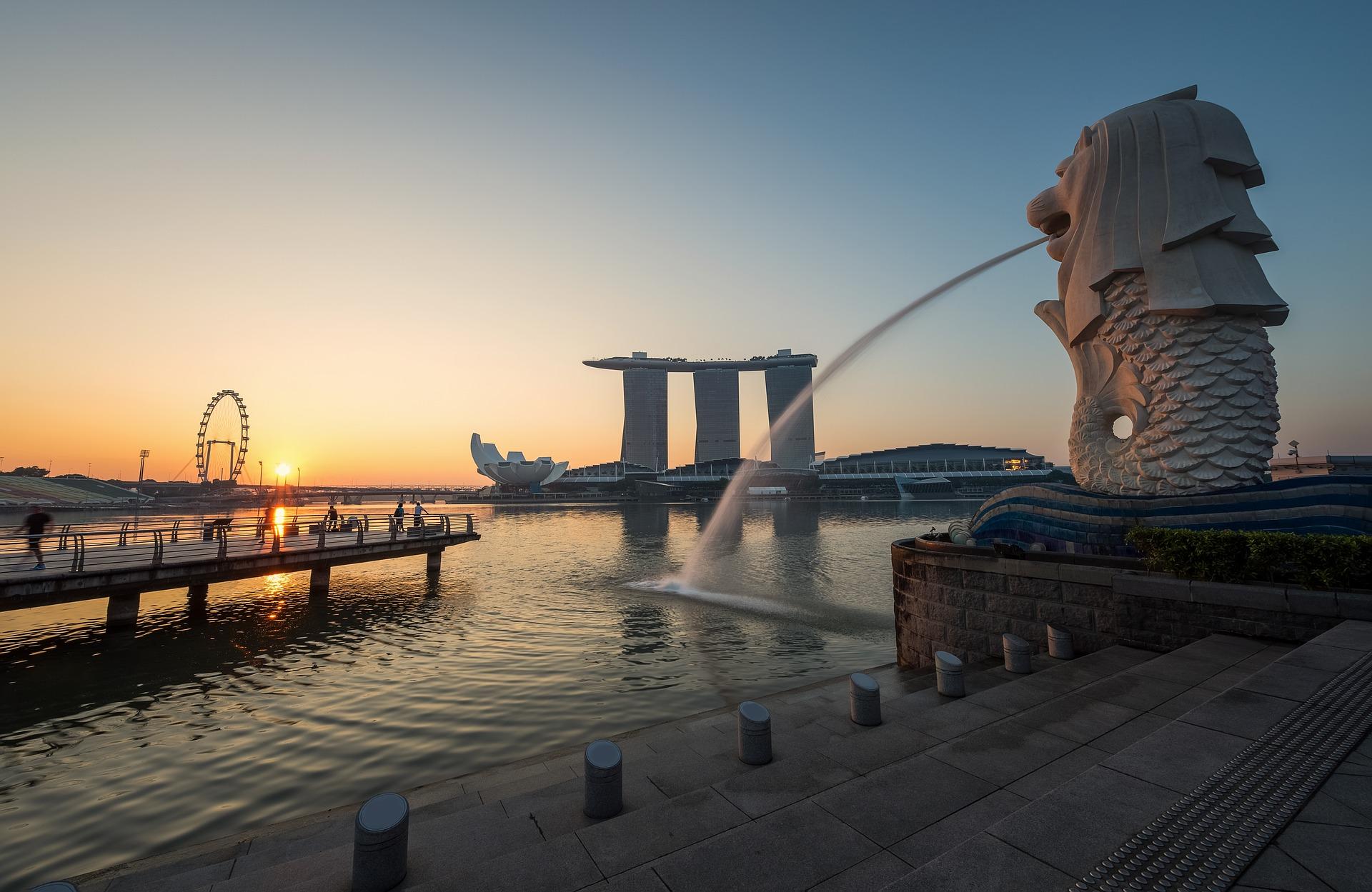 保険代理店の次世代オフィス(シンガポール)