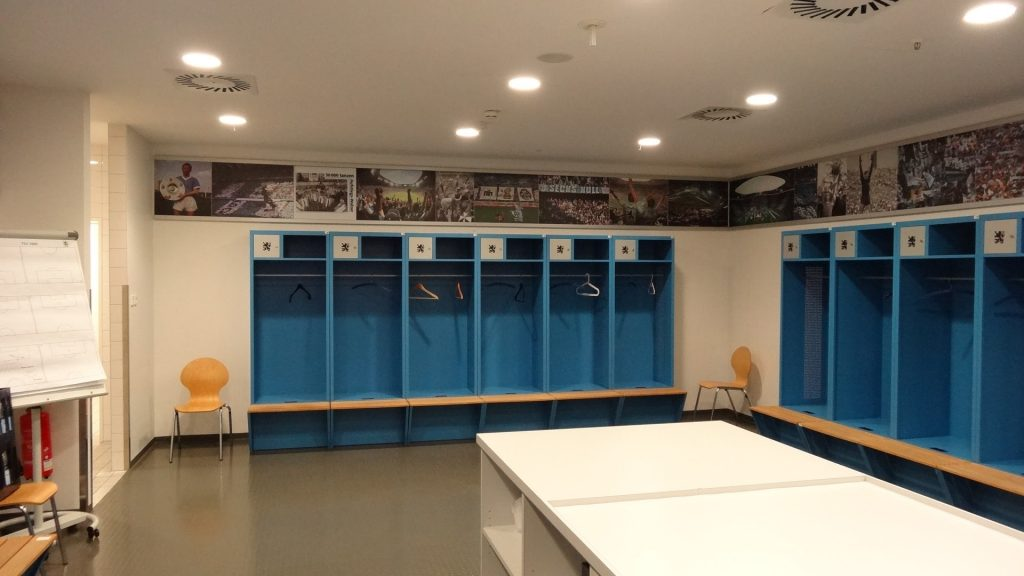 allianz arena locker