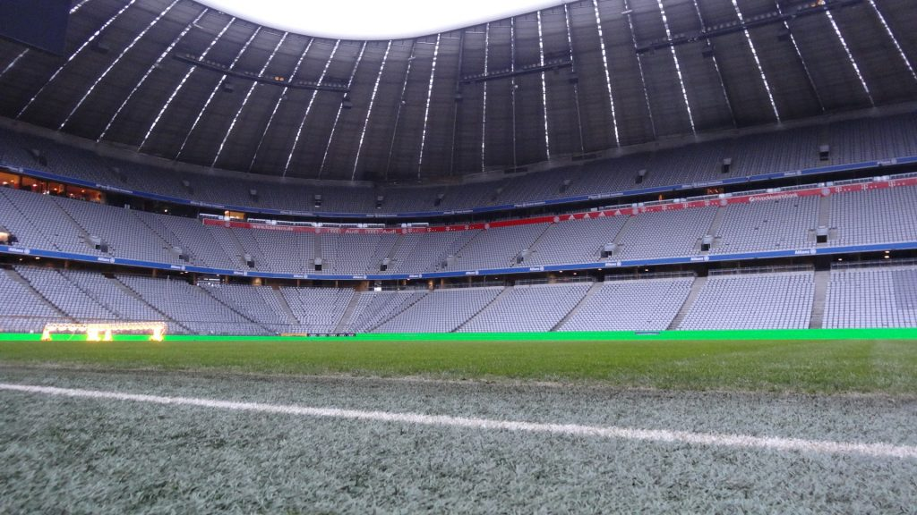 allianz arena pitch