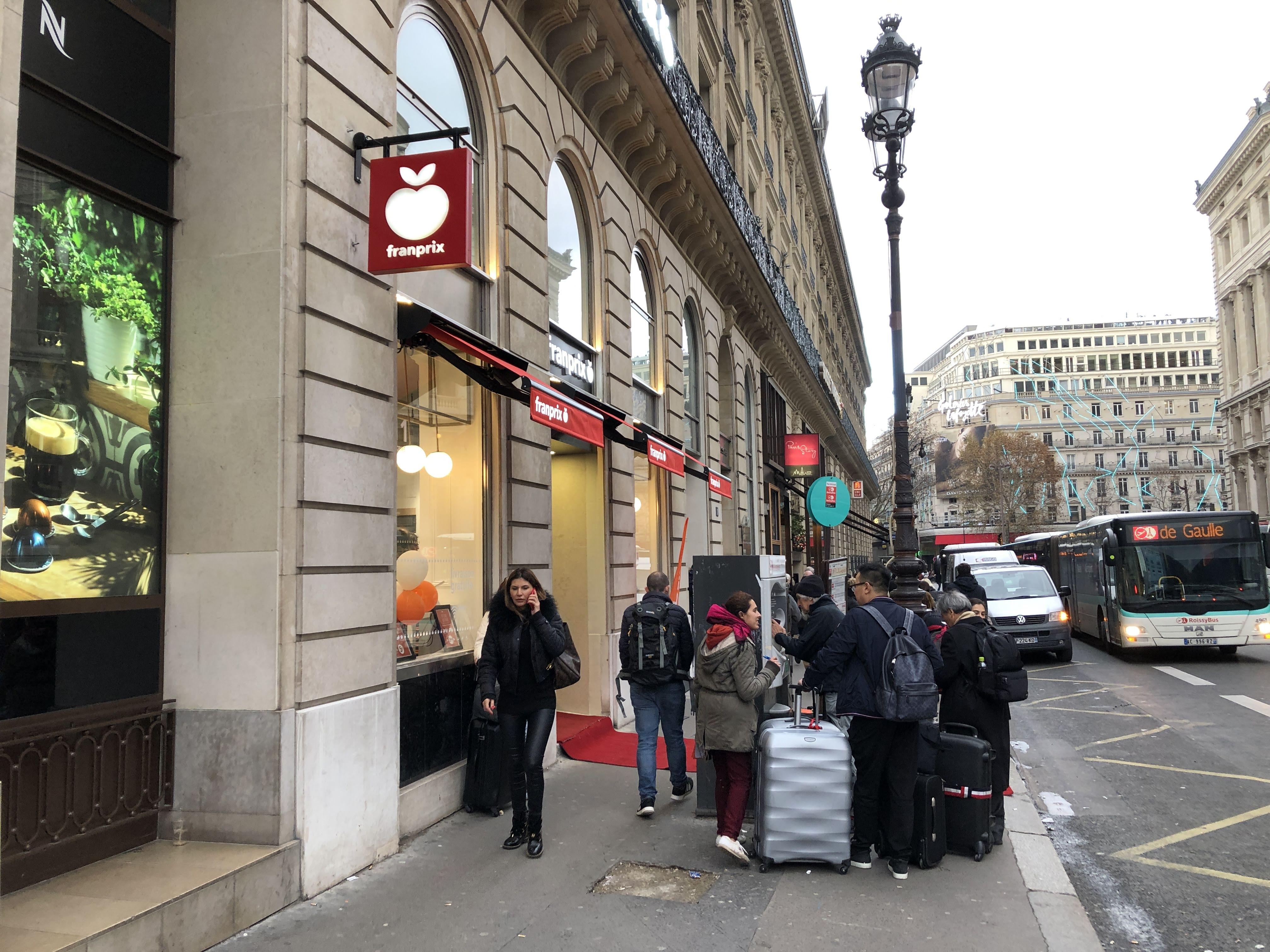 パリ市内とシャルル・ド・ゴール空港間のアクセス