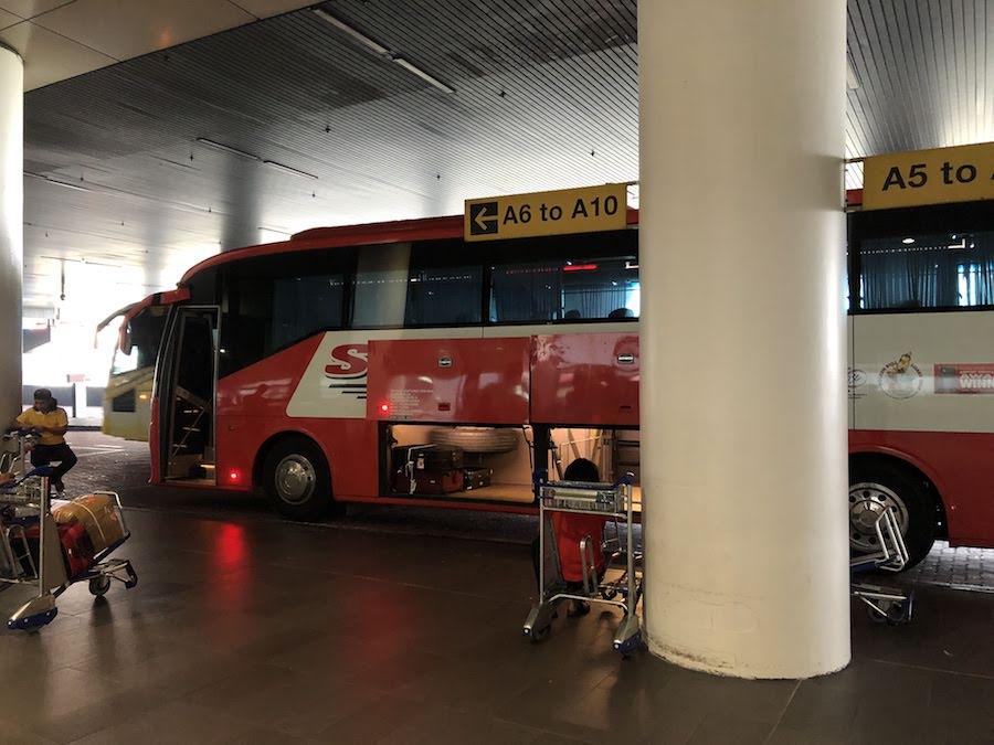 クアラルンプール空港-バス