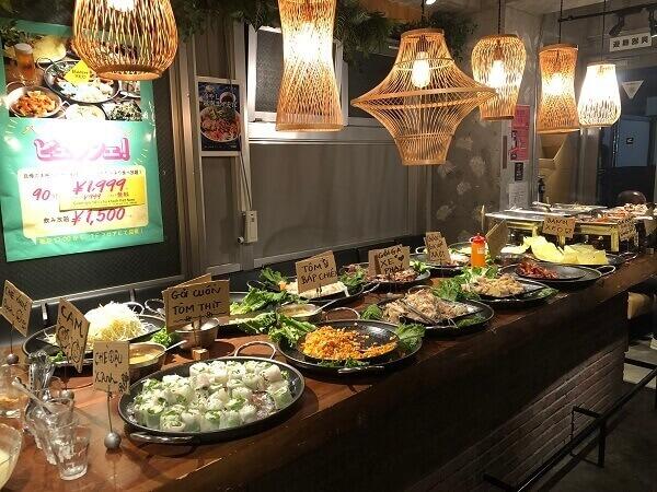 新宿ベトナム料理:ランチ・1人・サイゴン